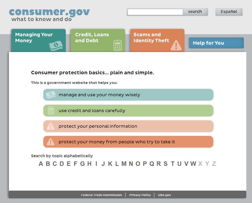 Consumer.gov