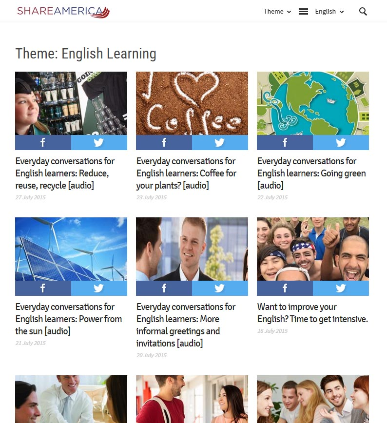 Share America - English Learning