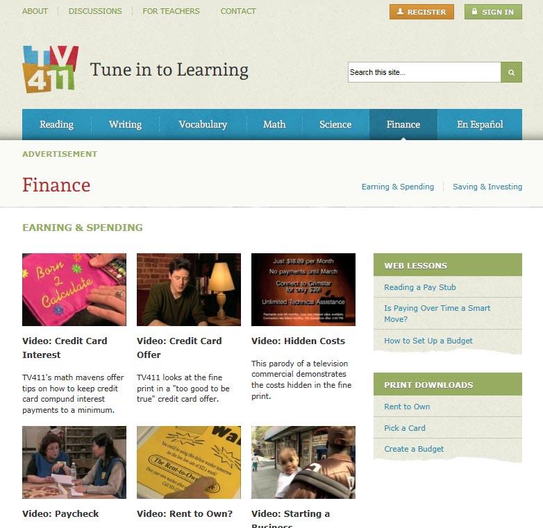 TV411 Finance