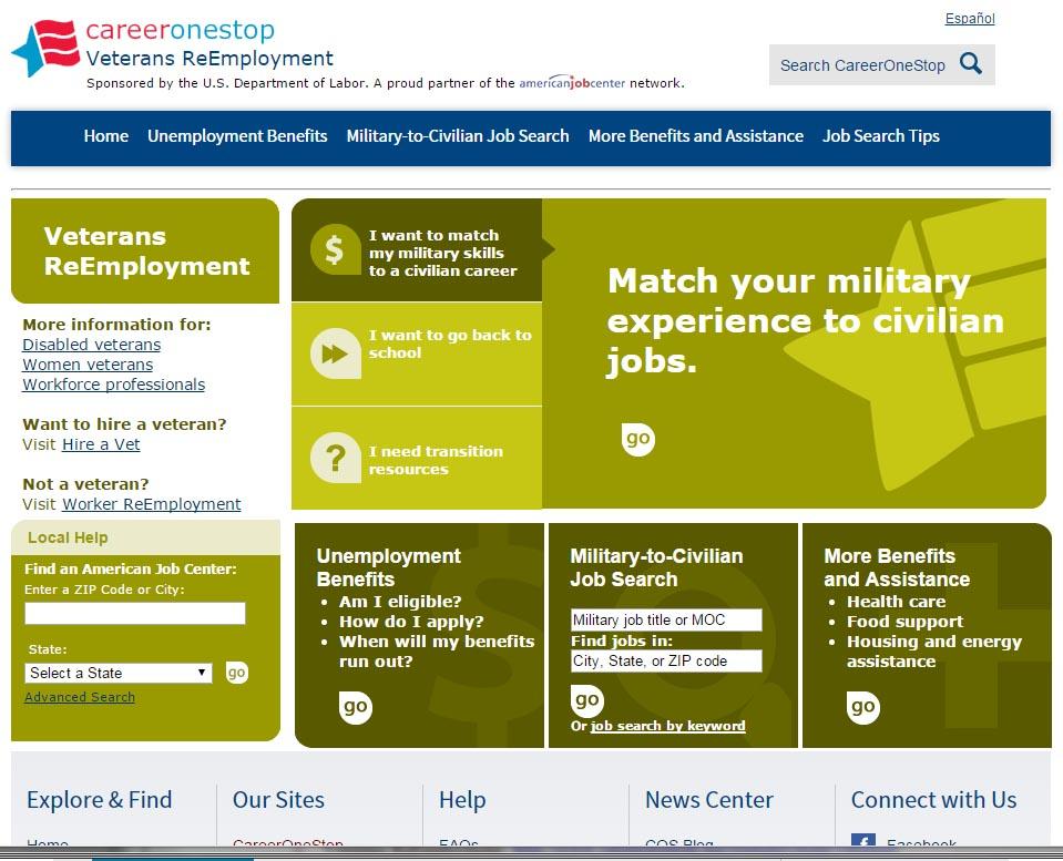 Veterans ReEmployment