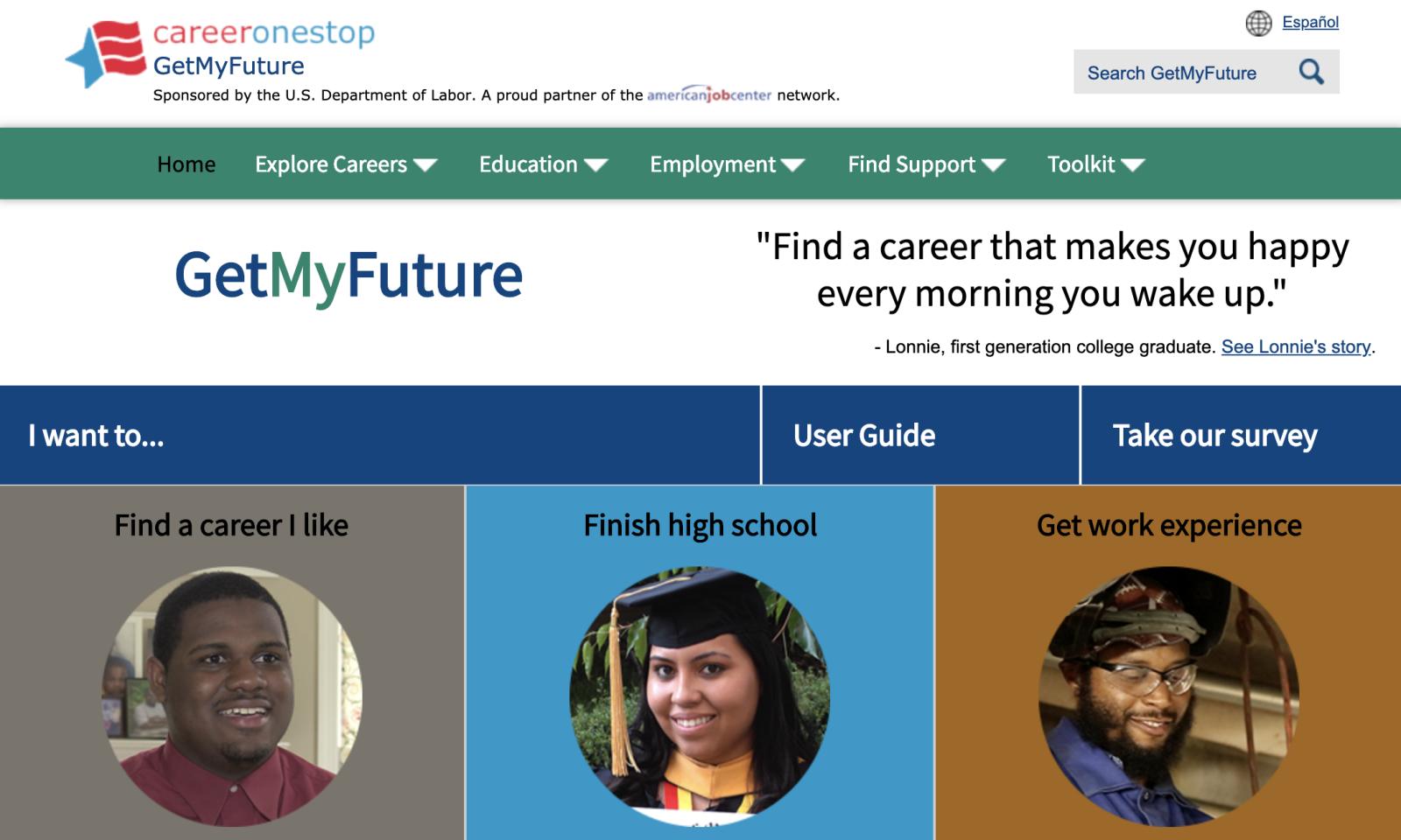 get my future screenshot