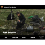 national parks science page