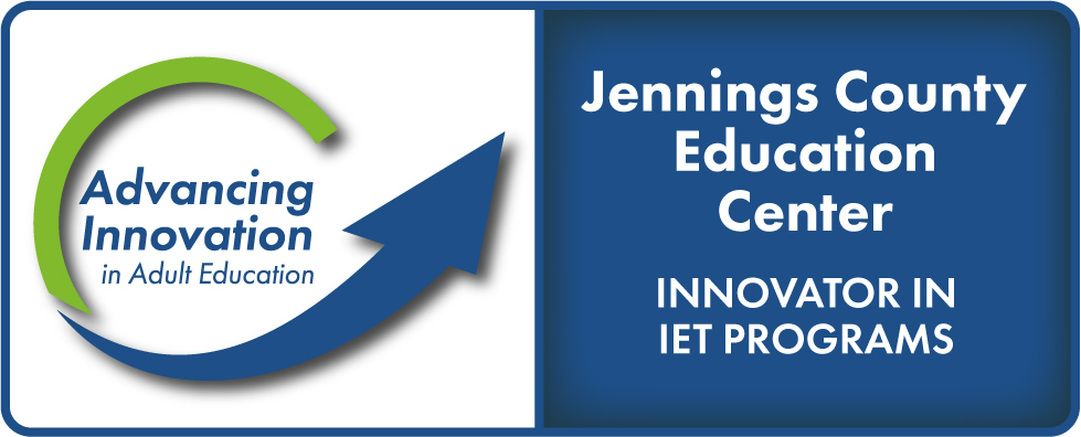 Advancing Innovation in Adult Education Logo, Jennings County Education Center, Innovator in Bridge Programs