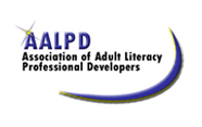 logo for the Association of Adult Literacy Professional Developer