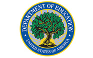 Logo for the United States Department of Education