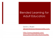 Decorative image for Resource Profile Blended Learning for Adult Educators