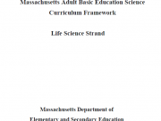 Decorative image for Resource Profile Massachusetts Adult Basic Education Science Curriculum Framework: Life Science Strand