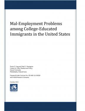 Decorative image for Resource Profile Mal-Employment Problems Among College-Educated Immigrants in the United States