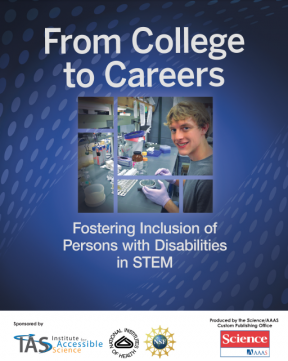Decorative image for Resource Profile From College to Careers: Fostering Inclusion of Persons with Disabilities in STEM