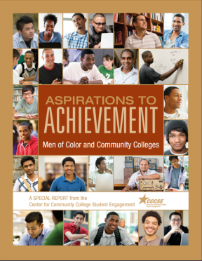 Decorative image for Resource Profile Aspirations to Achievement: Men of Color and Community Colleges