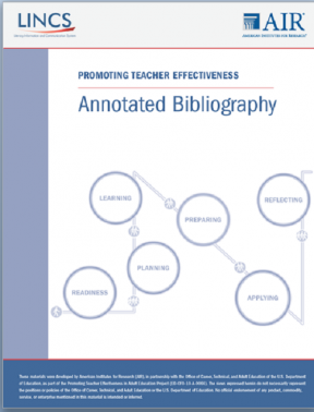Decorative image for Resource Profile Annotated Bibliography