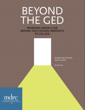 Decorative image for Resource Profile Beyond the GED: Promising Models for Moving High School Dropouts to College