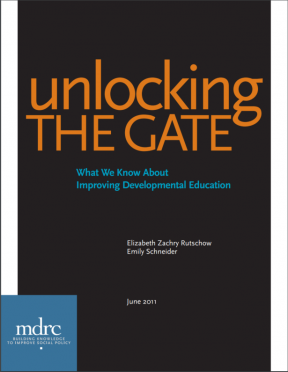 Decorative image for Resource Profile Unlocking the Gate: What We Know About Improving Developmental Education