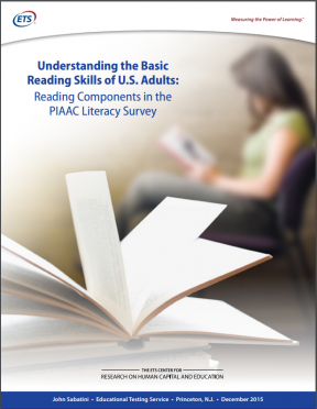 Decorative image for Resource Profile Understanding the Basic Reading Skills of U.S. Adults: Reading Components in the PIAAC Literacy Survey
