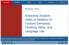 Decorative image for Resource Profile Analyzing Student Tasks in Relation to Content Demands, Thinking Skills, and Language Use - Module Two