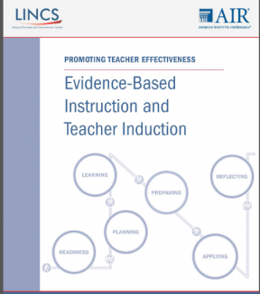Decorative image for Resource Profile Evidence-Based Instruction and Teacher Induction