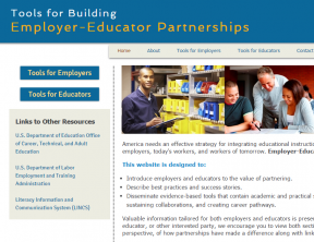 Decorative image for Resource Profile Tools for Building Employer-Educator Partnerships
