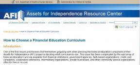 Decorative image for Resource Profile How to Choose a Financial Education Curriculum