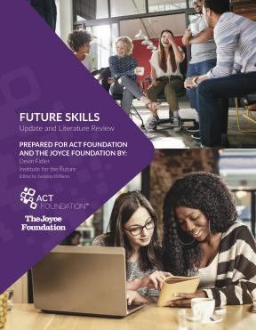 Decorative image for Resource Profile Future Skills Update and Literature Review