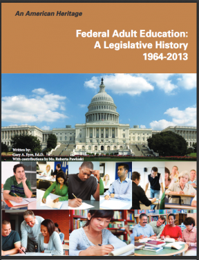 Decorative image for Resource Profile An American Heritage: A Federal Adult Education Legislative History
