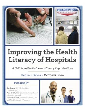 Decorative image for Resource Profile Improving the Health Literacy of Hospitals: A Collaborative Guide for Literacy Organizations