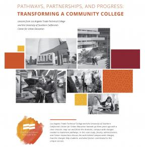 Decorative image for Resource Profile Pathways, Partnerships, and Progress: Transforming a Community College