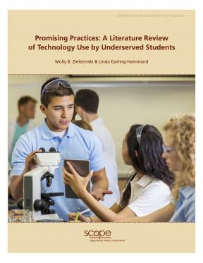 Decorative image for Resource Profile Promising Practices: A Literature Review of Technology Use by Underserved Students