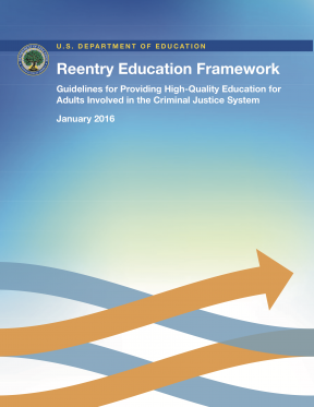 Decorative image for Resource Profile Reentry Education Framework: Guidelines for Providing High-Quality Education for Adults Involved in the Criminal Justice System