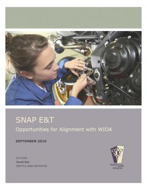 Decorative image for Resource Profile SNAP E&T – Opportunities for Alignment with WIOA
