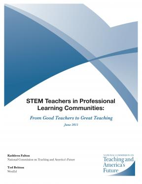Decorative image for Resource Profile STEM Teachers in Professional Learning Communities: From Good Teachers to Great Teaching