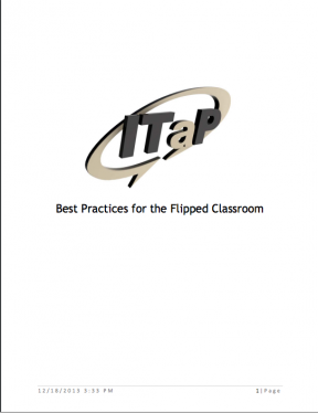 Decorative image for Resource Profile Best Practices for the Flipped Classroom
