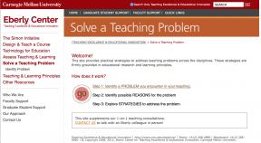 Decorative image for Resource Profile Solve a Teaching Problem