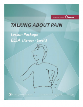 Decorative image for Resource Profile Talking About Pain ESL Complete Lesson Package
