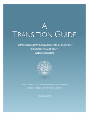 Decorative image for Resource Profile A Transition Guide to Postsecondary Education and Employment for Students and Youth with Disabilities