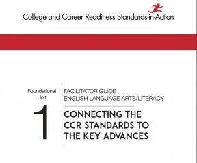 Decorative image for Resource Profile CCR Standards: ELA/Literacy Foundational Units