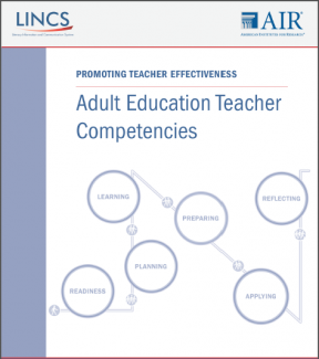 Decorative image for Resource Profile Adult Education Teacher Competencies