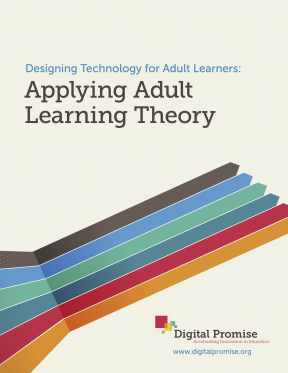 Decorative image for Resource Profile Designing Technology for Adult Learners: Applying Adult Learning Theory