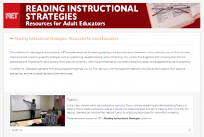 Decorative image for Resource Profile KET: Reading Instructional Strategies