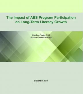 Decorative image for Resource Profile The Impact of ABS Program Participation on Long-Term Literacy Growth