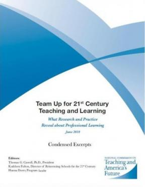 Decorative image for Resource Profile Teaming Up for 21st Century Teaching and Learning: What Research and Practice Reveal about Professional Learning