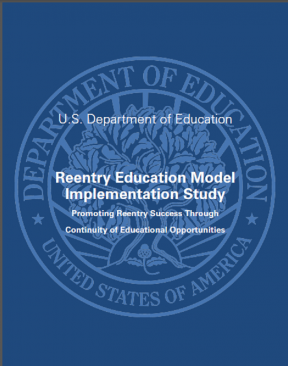 Decorative image for Resource Profile Reentry Education Model Implementation Study: Promoting Reentry Success through Continuity of Educational Opportunities