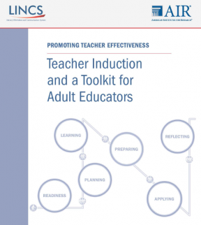 Decorative image for Resource Profile Teacher Induction and a Toolkit for Adult Educators