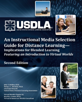 Decorative image for Resource Profile An Instructional Media Selection Guide for Distance Learning- Implications for Blended Learning Featuring an Introduction to Virtual Words
