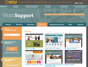 Decorative image for Resource Profile Worksupport.com at Virginia Commonwealth University