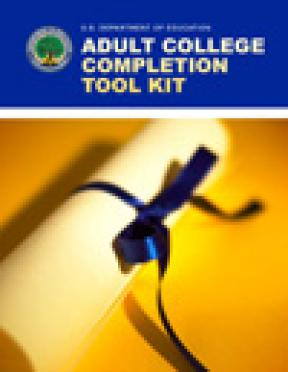 Decorative image for Resource Profile Adult College Completion Tool Kit