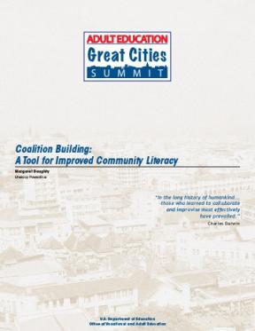 Decorative image for Resource Profile Coalition Building: A Tool for Improved Community Literacy
