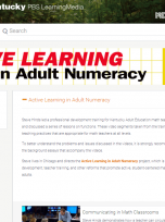 Decorative image for Resource Profile KET: Active Learning in Adult Numeracy