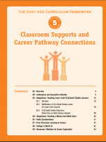 Decorative image for Resource Profile The CUNY HSE Curriculum Framework--Classroom Supports and Career Pathway Connections