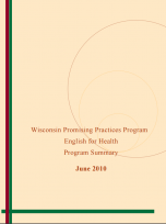 Decorative image for Resource Profile Wisconsin Promising Practices Program: English for Health