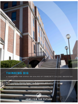 Decorative image for Resource Profile Thinking Big: A Framework for States on Scaling Up Community College Innovation